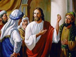 Orang-Farisi-datang-kepada-Yesus
